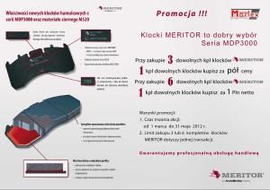 Promocja klocków hamulcowych Meritor dla klientów Martex