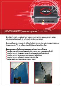 System ochrony naczep CMA Monitoring