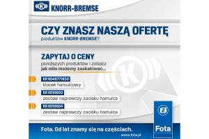 Niższe ceny produktów Knorr-Bremse
