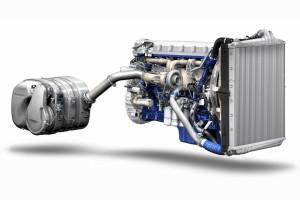 Silnik spełniający normę emisji spalin Euro 6 w pojazdach Volvo FH