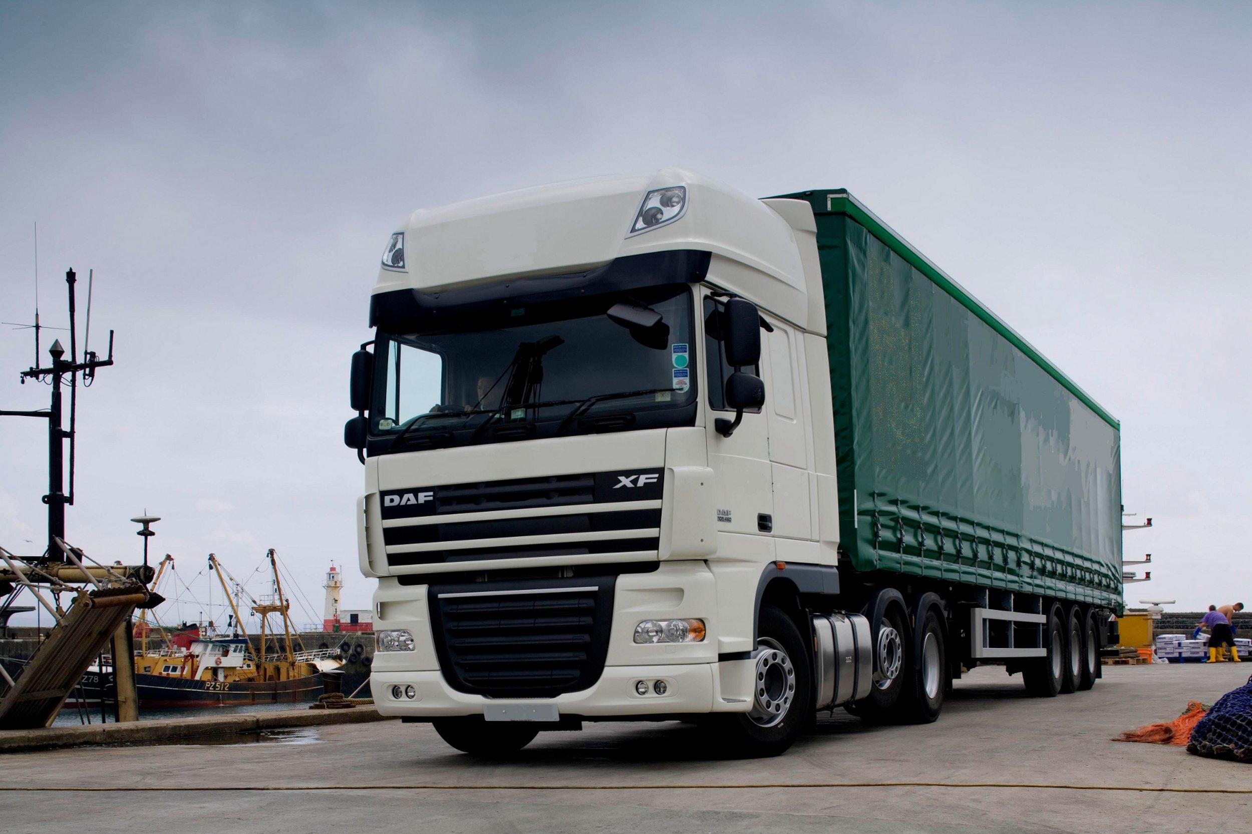 DAF XF105 zdobywa nagrodę Samochodu Ciężarowego Roku 2012