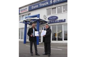 Schmitz Cargobull wybrał Partnera Serwisowego roku 2012