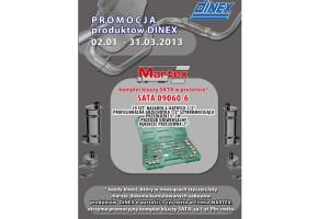 Promocja na produkty Dinex w Martex