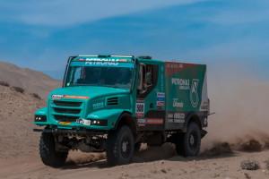 Iveco tuż za podium Rajdu Dakar 2013