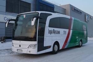 Legia Warszawa otrzymała autobus Mercedesa