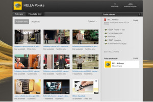 Reflektory robocze Hella na Youtube