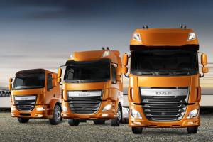 Nowe serie pojazdów DAF LF i CF w wersjach Euro 6