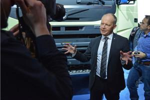 Volvo FMX zadebiutowało na targach Bauma2013