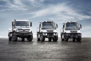 Nowe pojazdy specjalne Mercedes-Benz: Unimog i Econic