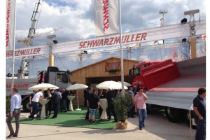 Schwarzmüller podsumowuje targi Bauma 2013