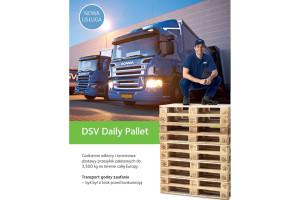 DSV Daily Pallet – nowy serwis drobnicowy