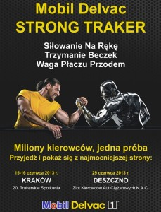 Nowe konkurencje na Mobil Delvac Strong Traker 2013