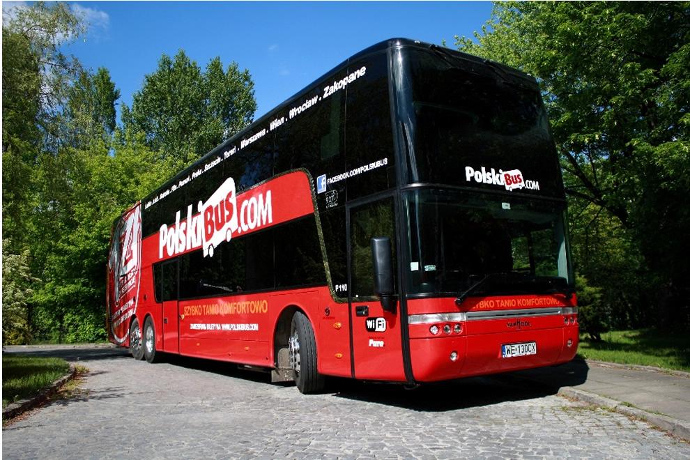 PolskiBus.com kupił 25 nowych dwupokładowych autokarów Astromega