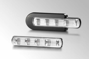 Dodatkowy kierunkowskaz LED do pojazdów ciężarowych od Helli