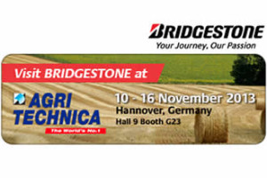 Bridgestone na targach Agritechnica 2013