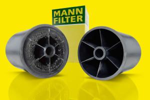 Osadzanie się drobin zanieczyszczeń w centryfugach oleju i wirnikach centryfug MANN-FILTER
