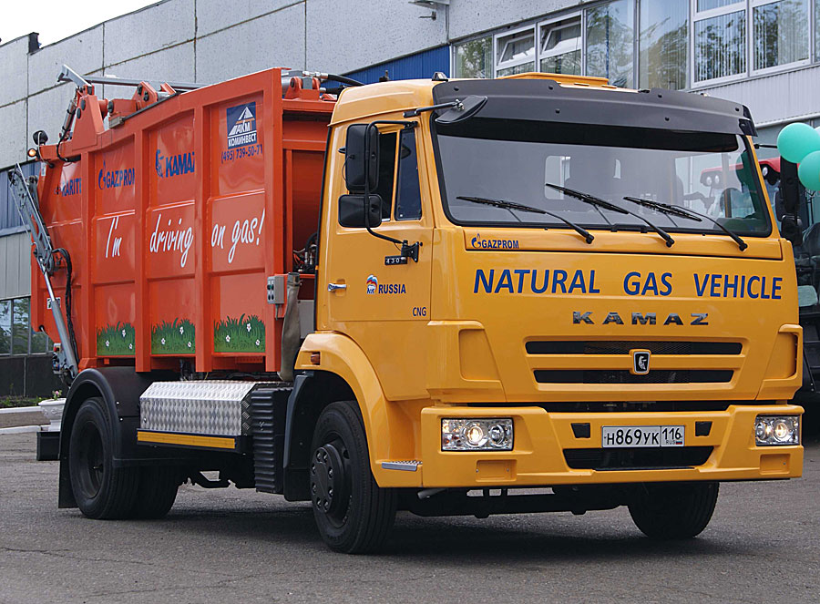 Kamaz promuje napęd na gaz