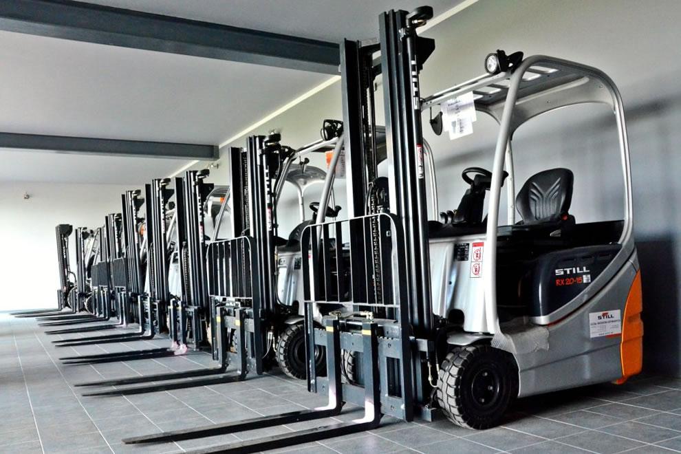 Europejskie Centrum Odnawiania Wózków Widłowych w Polsce