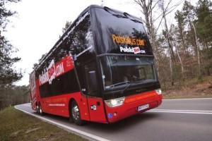 Nowe autobusy i baza operacyjna PolskiBus.com we Wrocławiu