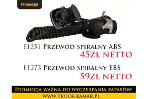 Promocja Tygodnia w KAMAR: przewody spiralne ABS i EBS