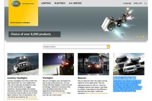 Katalog online HELLA – uniwersalna oferta