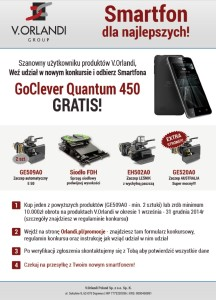 Orlandi rozdaje smartfony – konkurs