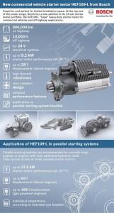 Nowy rozrusznik Bosch do dużych silników