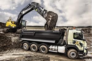 Prezentacje budowlane Volvo Trucks w Polsce