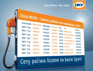 Nowe stacje w sieci DKV