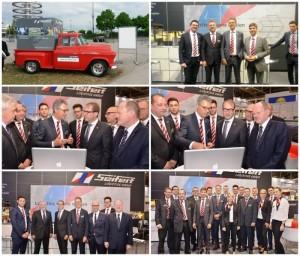 Seifert spotyka się z niemieckim ministrem transportu