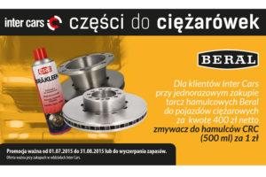 Promocyjna oferta produktów Beral wInter Cars