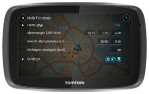 Nawigacja TRUCKER 5000 - nowość od TomToma