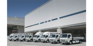 Elektryczne ciężarówki FUSO pomagają portugalskim władzom
