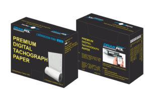 Wykresówki i papier do tachografów marki Drabpol