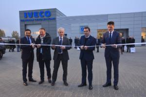 """IVECO otwiera Centrum """"Ok Trucks"""" oraz Centrum Szkoleniowe w Nadarzynie"""