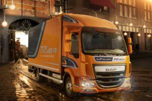 "DAF LF Silent z certyfikatem ""Quiet Truck"""