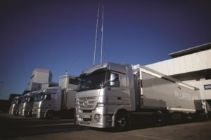 Finał eko-rywalizacji kierowców ciężarówek McLaren-Honda