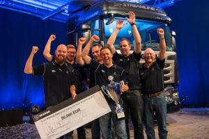 Światowy finał konkursu Scania Top Team 2015