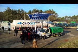 Stacja LNG/CNG w Śremie oficjalnie otwarta dla klientów