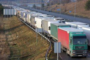 Kolejna blokada na rosyjskiej granicy