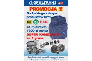 Kamizelka za zakup produktów Schaeffler wOpoltrans