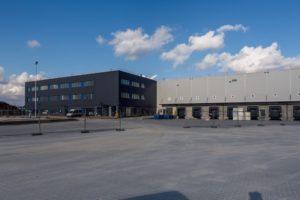 Pierwszy rok budowy Europejskiego Centrum Logistyki iRozwoju w Zakroczymiu