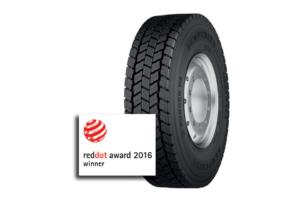 Opona Semperit wyróżniona w konkursie  Red Dot Design Award