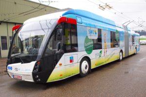 Trolejbusy z litowo-tytanowymi bateriami już kursują Esslingen