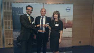 TRW Aftermarket otrzymuje nagrodę Quality Excellence 2015 od Volvo Cars