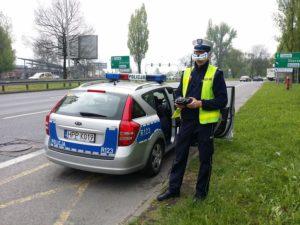 Policja testuje drony do rejestrowania wykroczeń