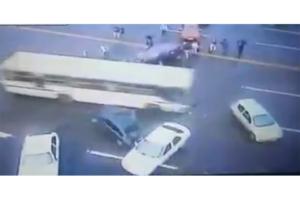 Kierowca autobusu nie wytrzymał