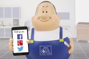 DT Spare Parts na Facebooku, Twitterze i Google+