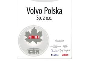 Volvo Polska ze Srebrnym Listkiem