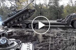 Rosyjski czołg pokonał się sam
